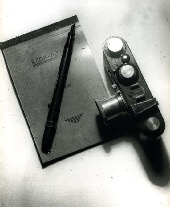 Aleksandr Ródchenko Naturaleza muerta con Leica (1930)