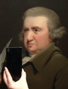 """(Jonathan Wallis/Museum of Selfies/Tumblr) """"What inspired me to create a Museum of Selfies series on Tumblr was my visit to the National Gallery of Denmark together with a friend,"""" says 29-year-old Muus."""