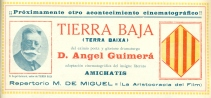 Tierra Baja (Reverso) (1912)