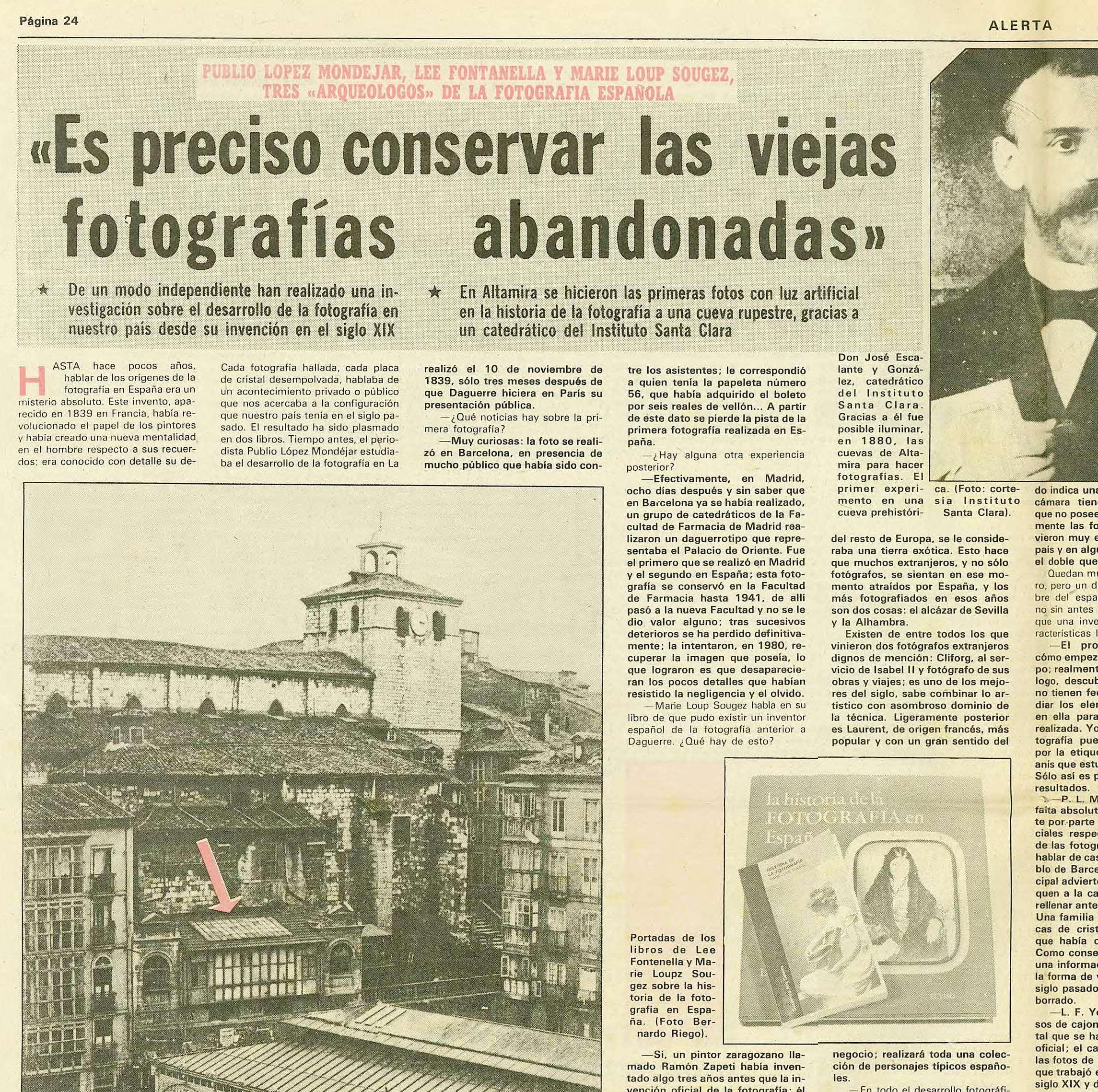 Entrevista 1983 detalle